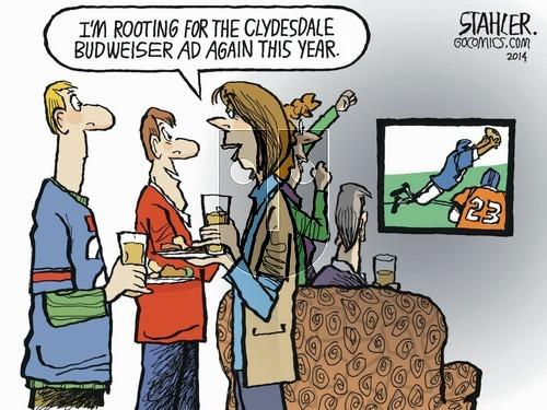 Jeff Stahler - Sunday February 2, 2014 Comic Strip