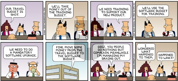 Dilbert - Sunday February 11, 2007 Comic Strip