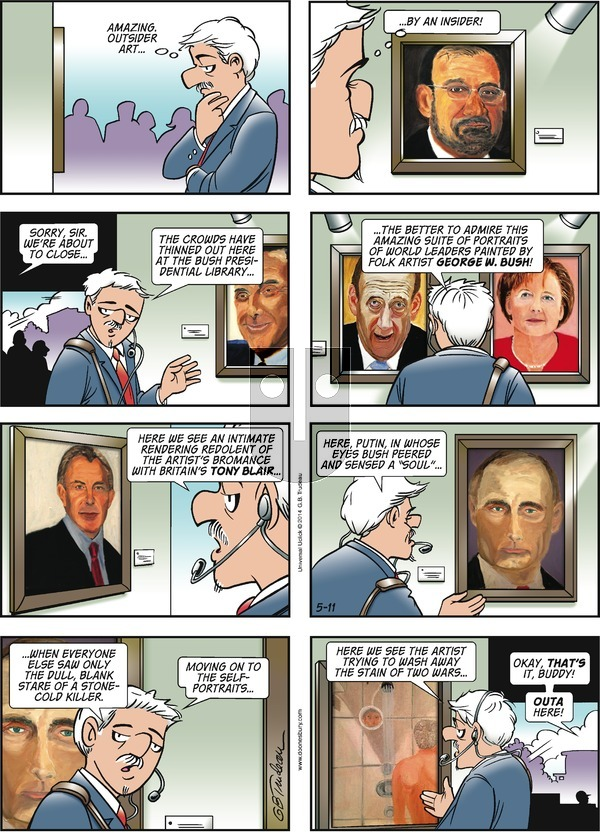 Doonesbury on Sunday May 11, 2014 Comic Strip