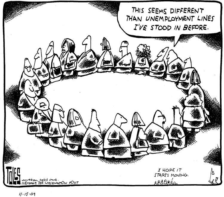 Tom Toles for Nov 15, 2009 Comic Strip