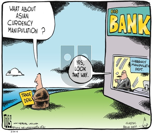 Tom Toles on Sunday May 24, 2015 Comic Strip