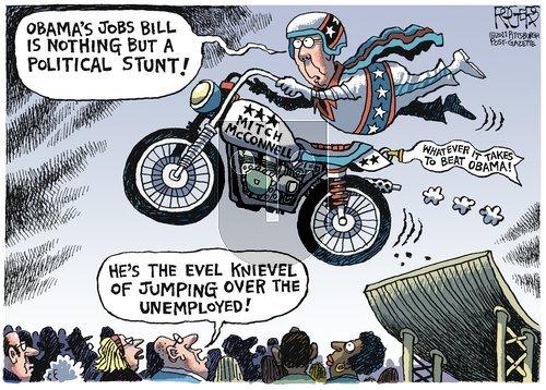 Rob Rogers - Sunday October 16, 2011 Comic Strip