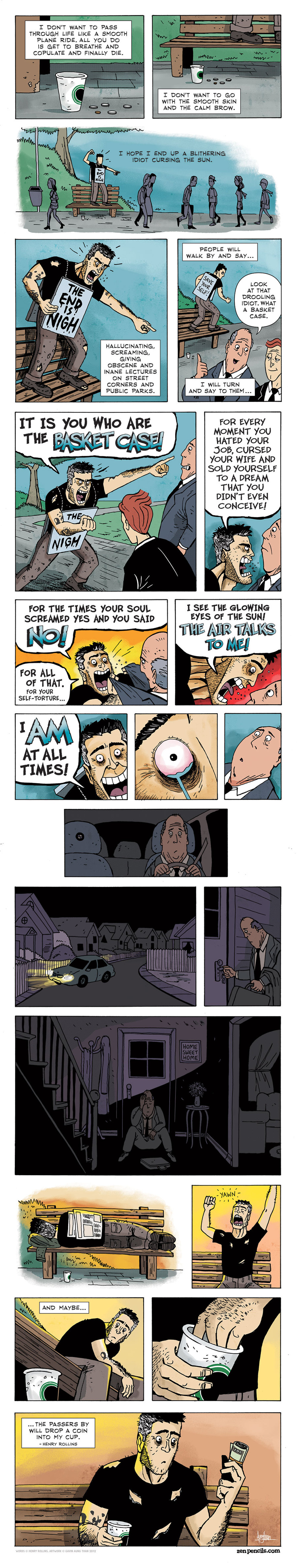 Zen Pencils for Oct 18, 2013 Comic Strip
