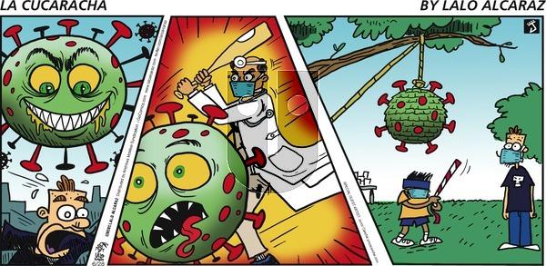 La Cucaracha - Sunday June 28, 2020 Comic Strip