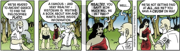 Alley Oop - Thursday June 27, 2019 Comic Strip