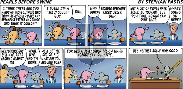 Pearls Before Swine - Sunday October 13, 2019 Comic Strip
