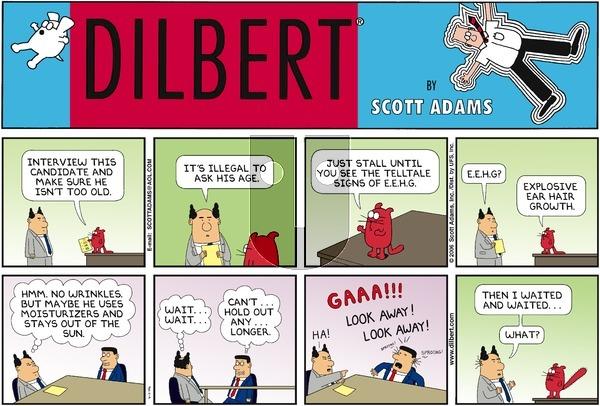 Dilbert - Sunday April 2, 2006 Comic Strip