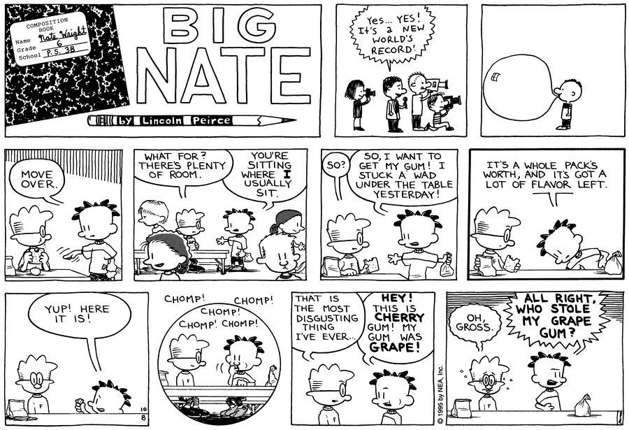 Big Nate: First Class Comic Strip for October 18, 2020