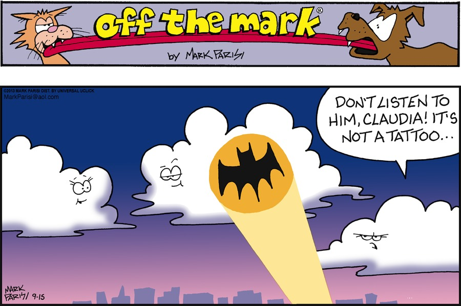 Off the Mark for Sep 15, 2013 Comic Strip