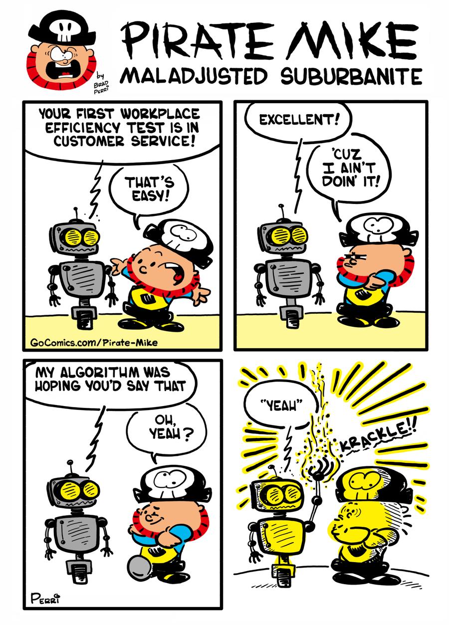 Pirate Mike Comic Strip for November 19, 2019