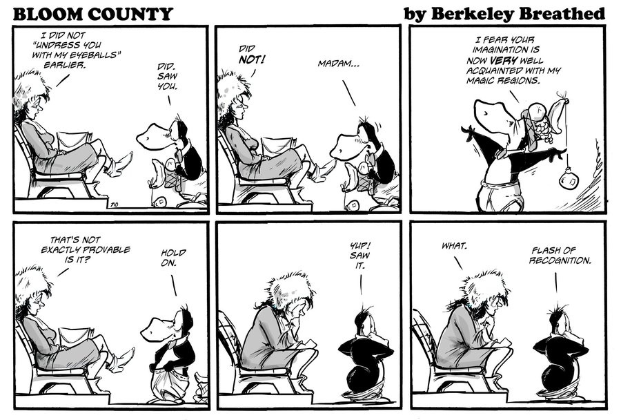 Bloom County 2018 by Berkeley Breathed for November 27, 2018