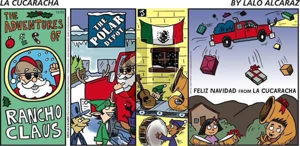 La Cucaracha on Sunday December 22, 2019 Comic Strip