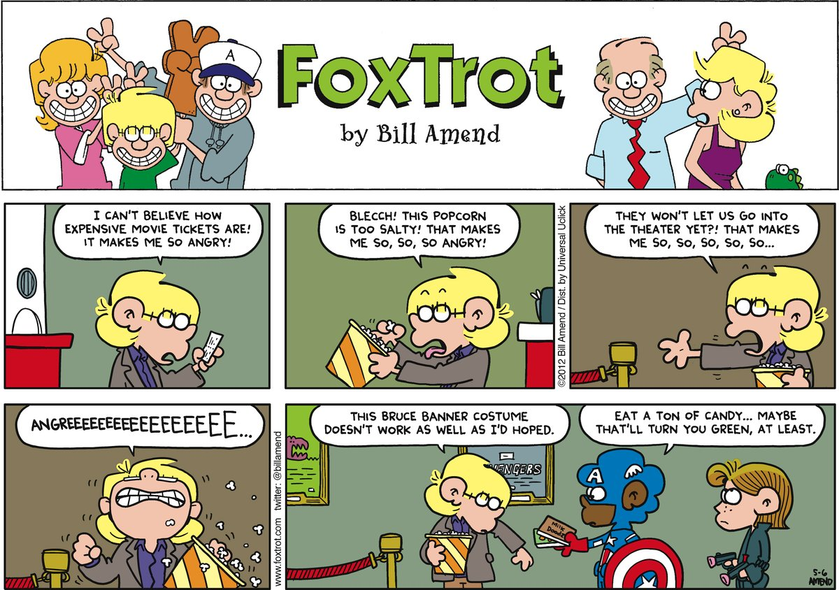 FoxTrot Comic Strip for May 06, 2012
