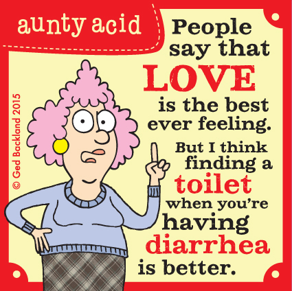 Aunty Acid for May 9, 2015 Comic Strip