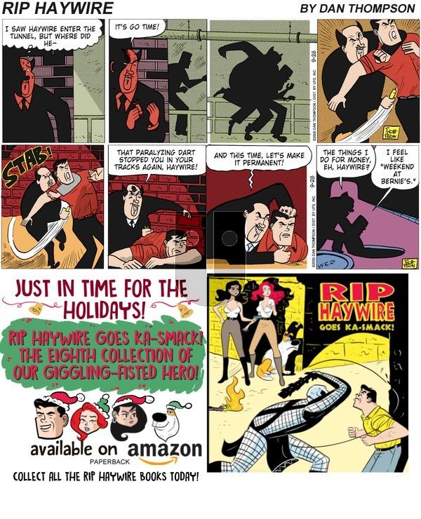 Rip Haywire on December 9, 2018 Comic Strip