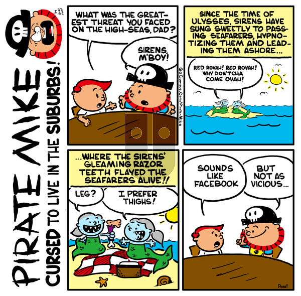 Pirate Mike on Friday May 22, 2020 Comic Strip