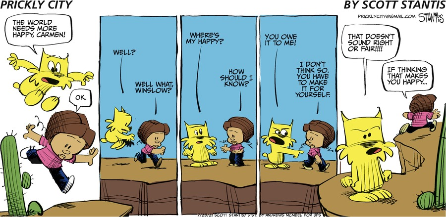 Prickly City Comic Strip for July 25, 2021