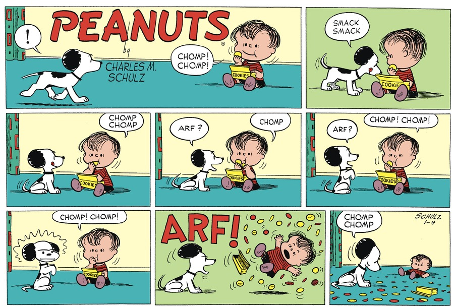 Peanuts Begins Comic Strip for January 04, 1953