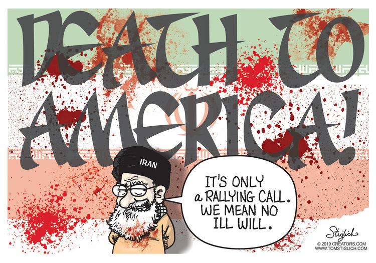 Tom Stiglich Comic Strip for June 18, 2019