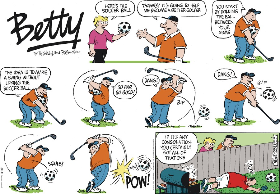 Betty Comic Strip for March 29, 2020