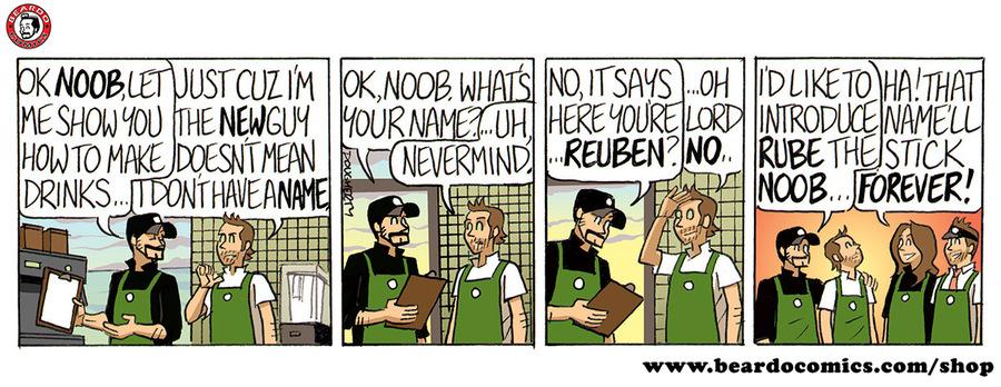 Beardo Comic Strip for November 08, 2019