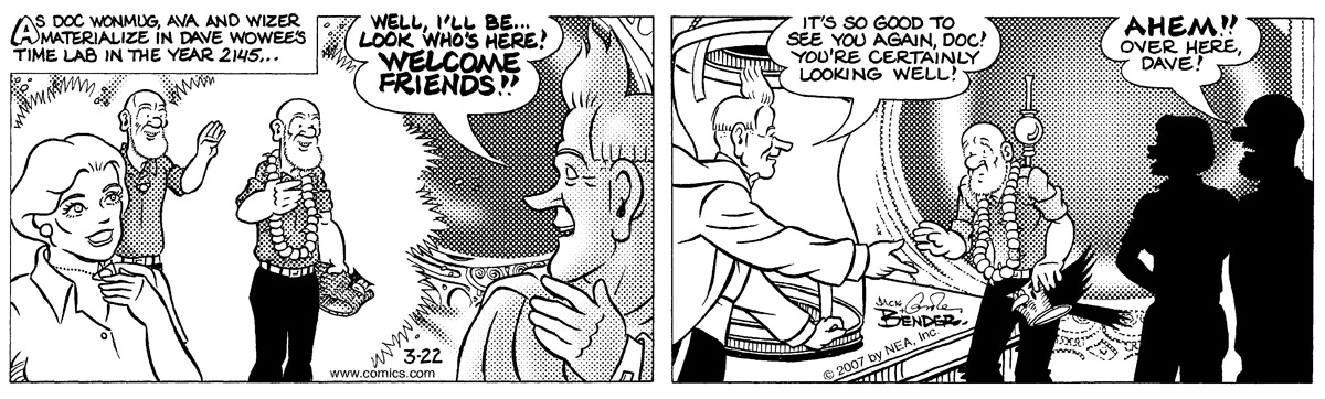 Alley Oop Comic Strip for March 22, 2007