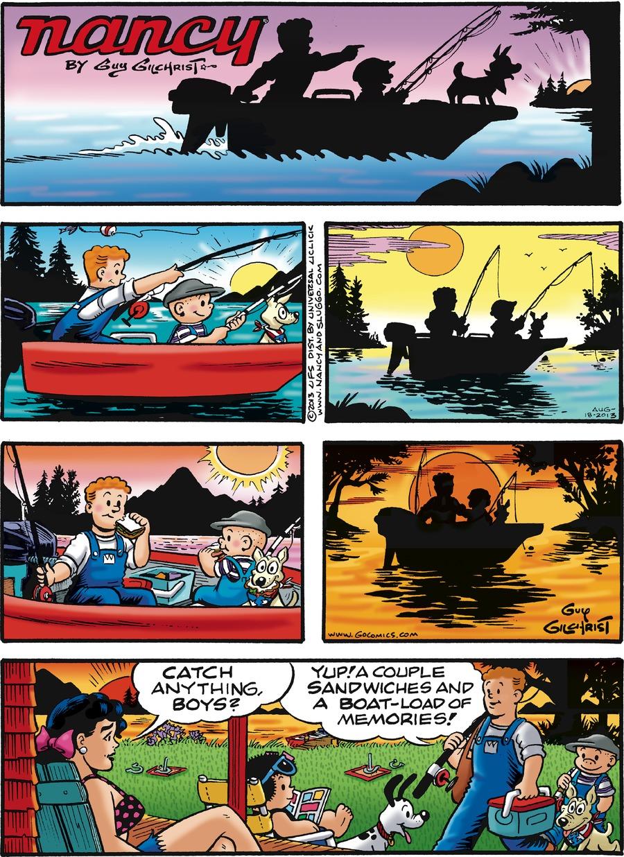 Nancy for Aug 18, 2013 Comic Strip