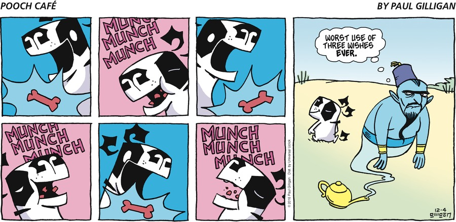 Pooch Cafe Comic Strip for December 04, 2016