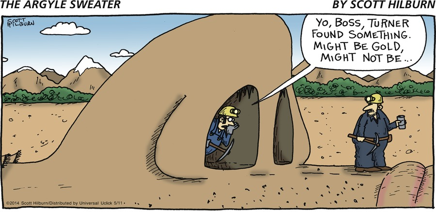 The Argyle Sweater for May 11, 2014 Comic Strip