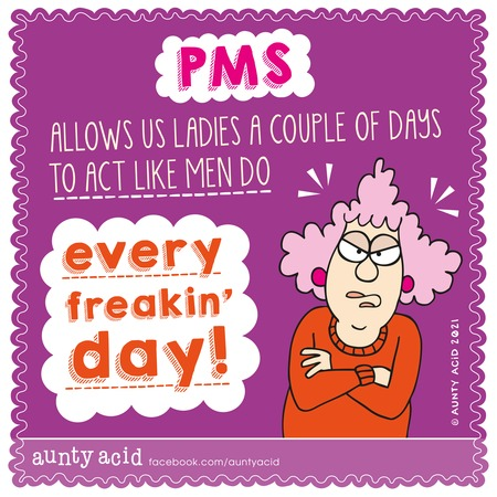 Aunty Acid Comic Strip for May 02, 2021