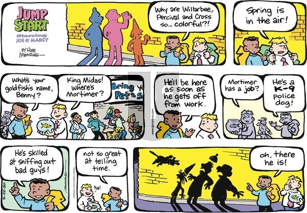 JumpStart on Sunday March 22, 2020 Comic Strip