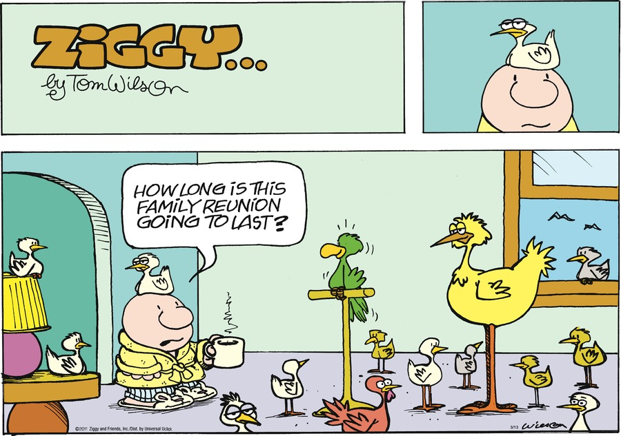 Ziggy Comic Strip for March 13, 2011