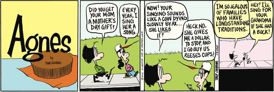 Agnes Comic Strip for May 09, 2021