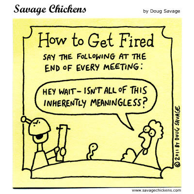 Savage Chickens Comic Strip for June 01, 2015