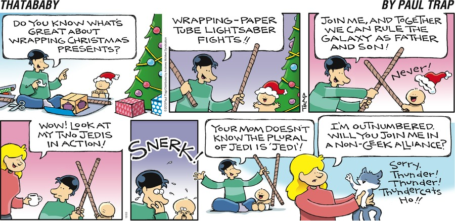 Thatababy Comic Strip for December 22, 2019