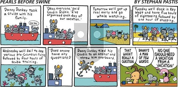 Pearls Before Swine on Sunday January 26, 2014 Comic Strip