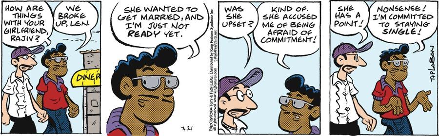 Edge City Comic Strip for July 21, 2019