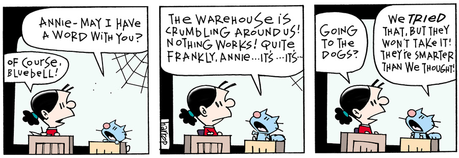 Ten Cats Comic Strip for July 22, 2019