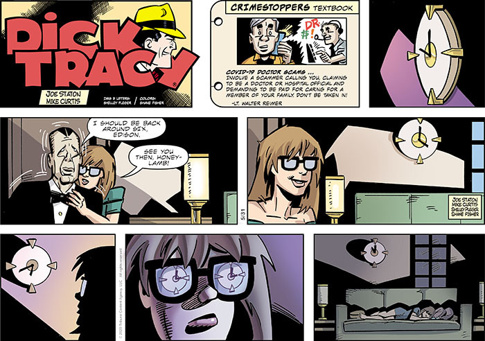 Dick Tracy Comic Strip for May 31, 2020