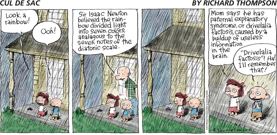 Cul de Sac Comic Strip for July 18, 2010