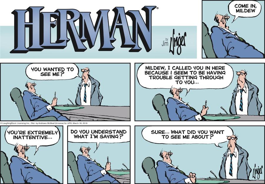 Herman for Mar 18, 2018 Comic Strip
