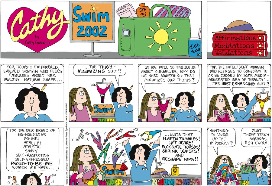 Cathy for May 26, 2002 Comic Strip