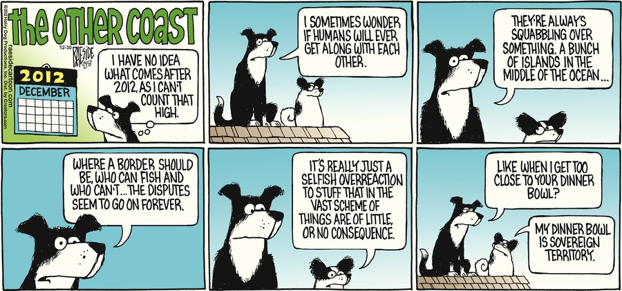 The Other Coast for Dec 30, 2012 Comic Strip