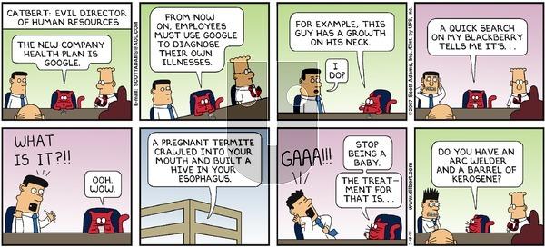 Dilbert - Sunday February 18, 2007 Comic Strip