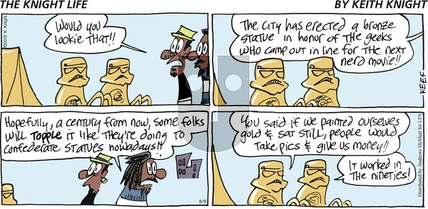The Knight Life on Sunday June 9, 2019 Comic Strip