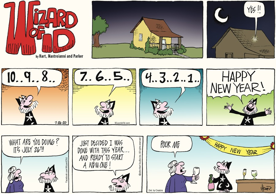 Wizard of Id Comic Strip for July 26, 2020