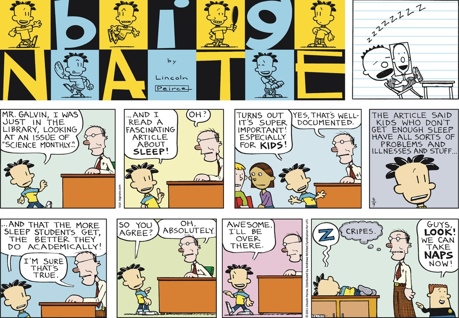 Big Nate by Lincoln Peirce on Sun, 09 May 2021