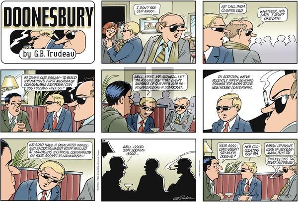 Doonesbury on Sunday December 31, 2006 Comic Strip
