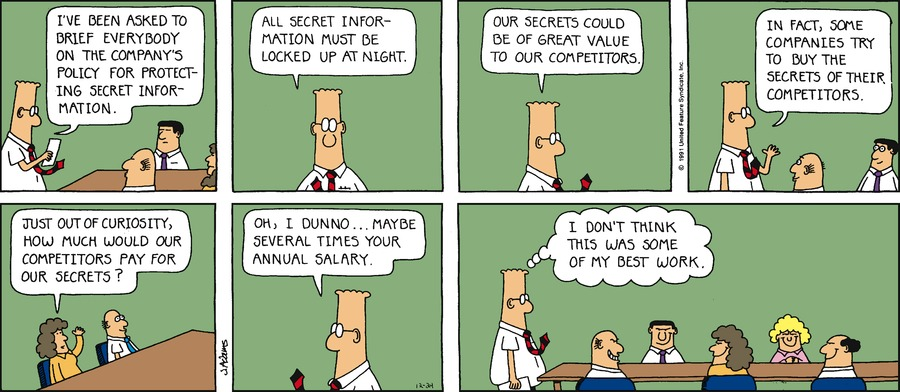 Dilbert Classics Comic Strip for March 08, 2015