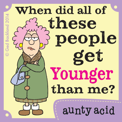 Aunty Acid for Jun 24, 2014 Comic Strip